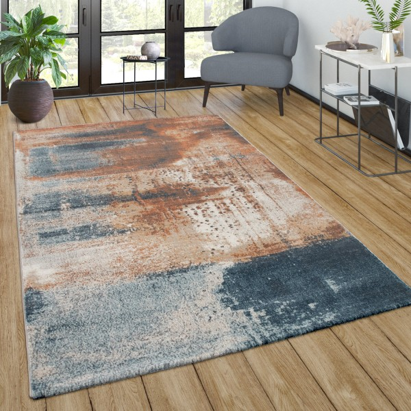 Large Rug Vintage Abstract Pattern