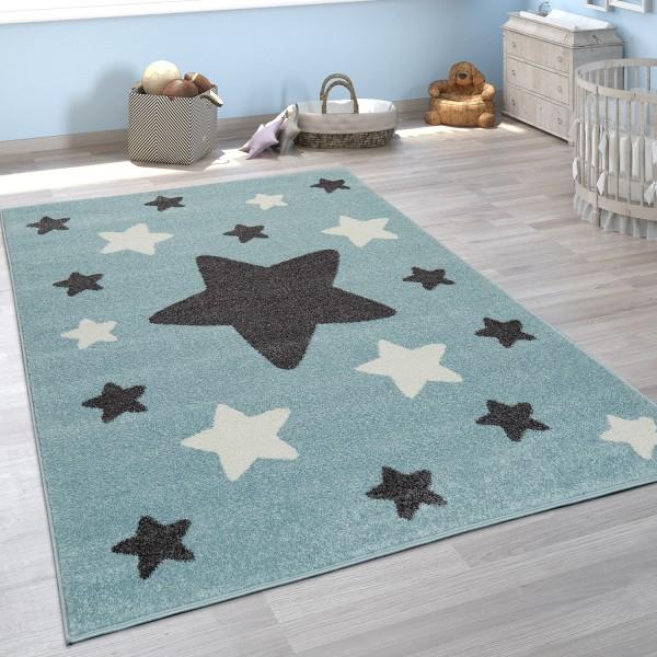 Childrens Bedroom Rug Stars