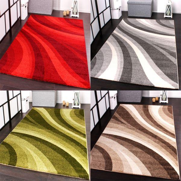 Moderner Designer Webteppich Gemustert - Teppich in versch. Grössen und Farben