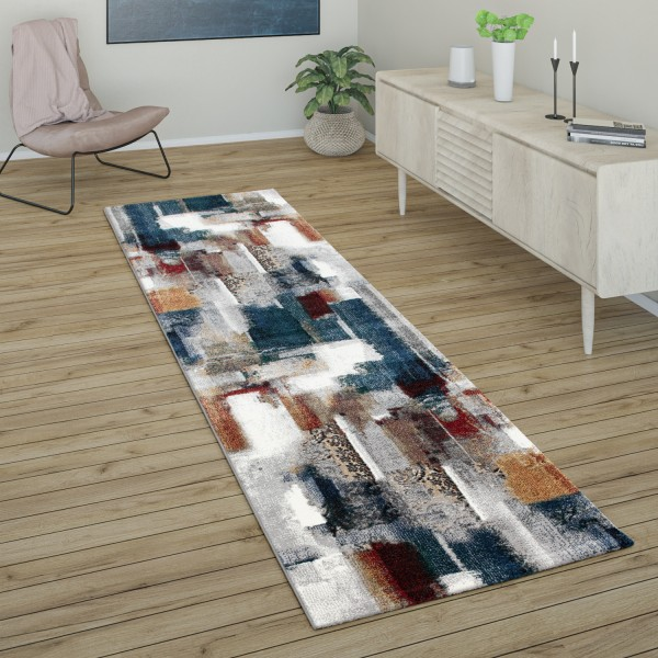 Rug Living Rooms Abstract Pattern Short-Pile
