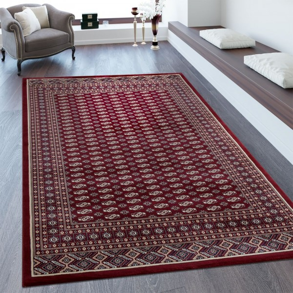 Orientteppich Bordüre Perser Optik Rot