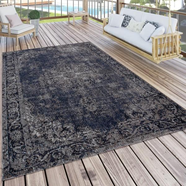 Indoor & Outdoor Rug Oriental Look Balcony Patio